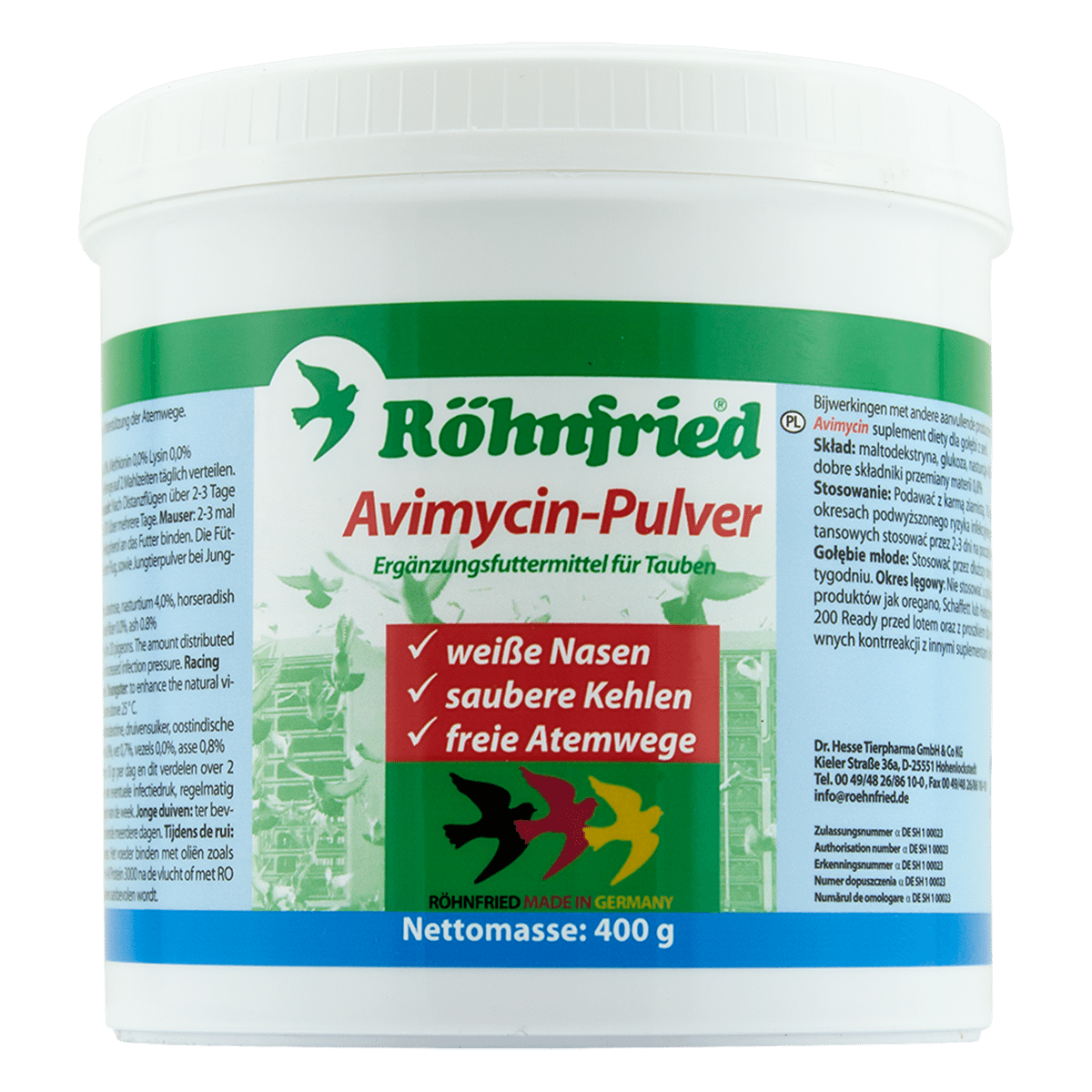 Avimycin Pulver